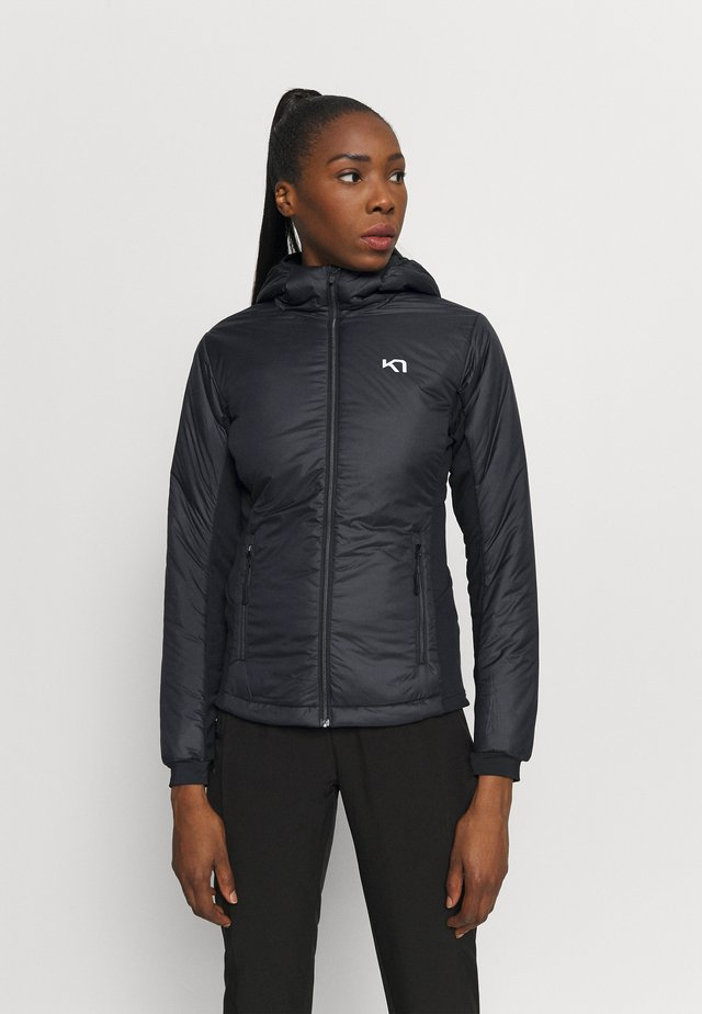 SOLVEIG JACKET - Outdoorjas - black