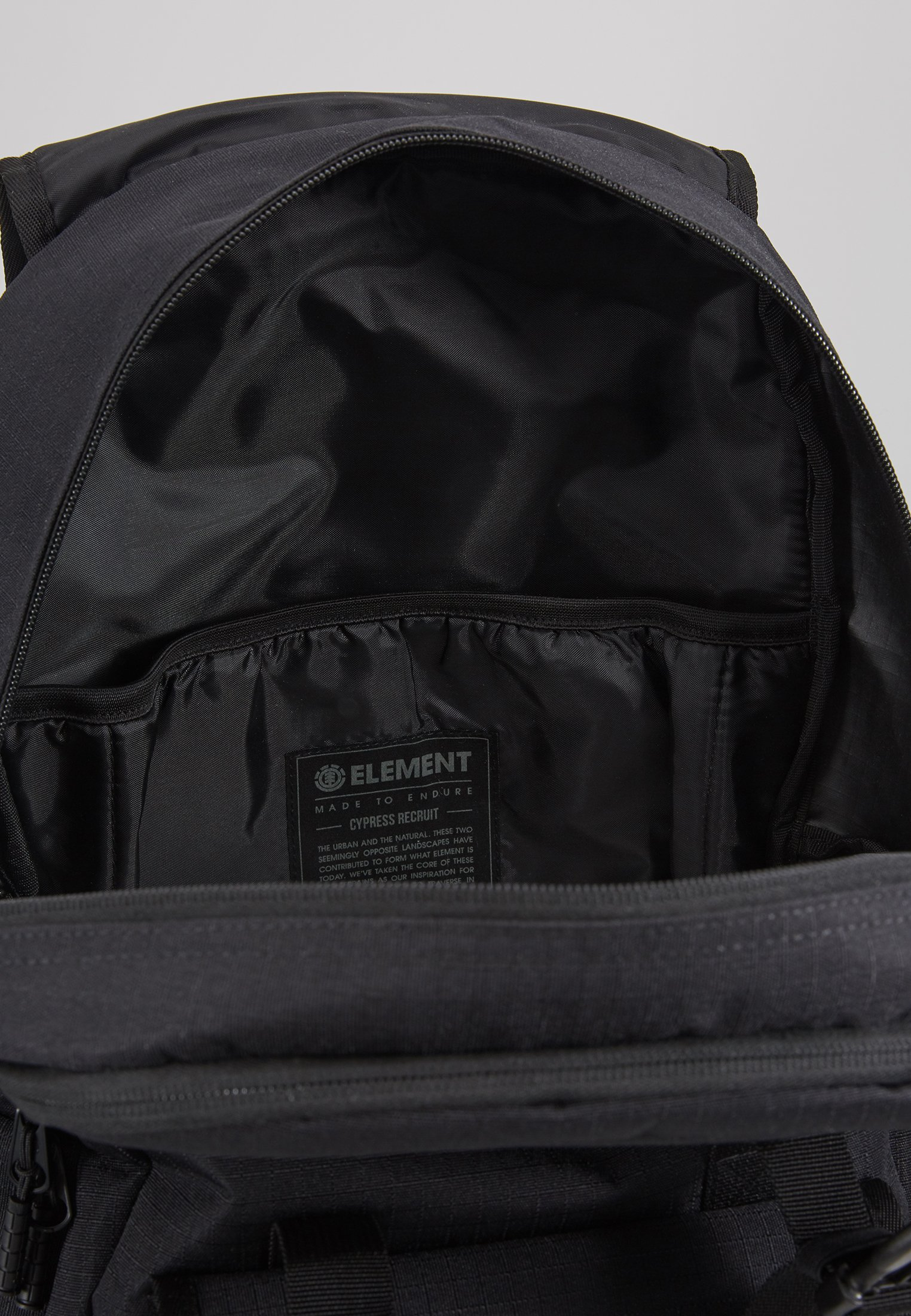 Element CYPRESS RECRUIT - Tagesrucksack - all black/schwarz - Herrentaschen C2d5m