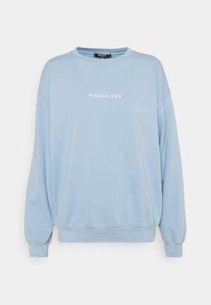 WASHED - Sweatshirt - light blue