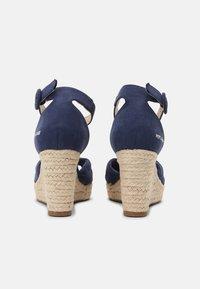 Pepe Jeans - MAIDA PEACH - Sandały na platformie - navy - 3