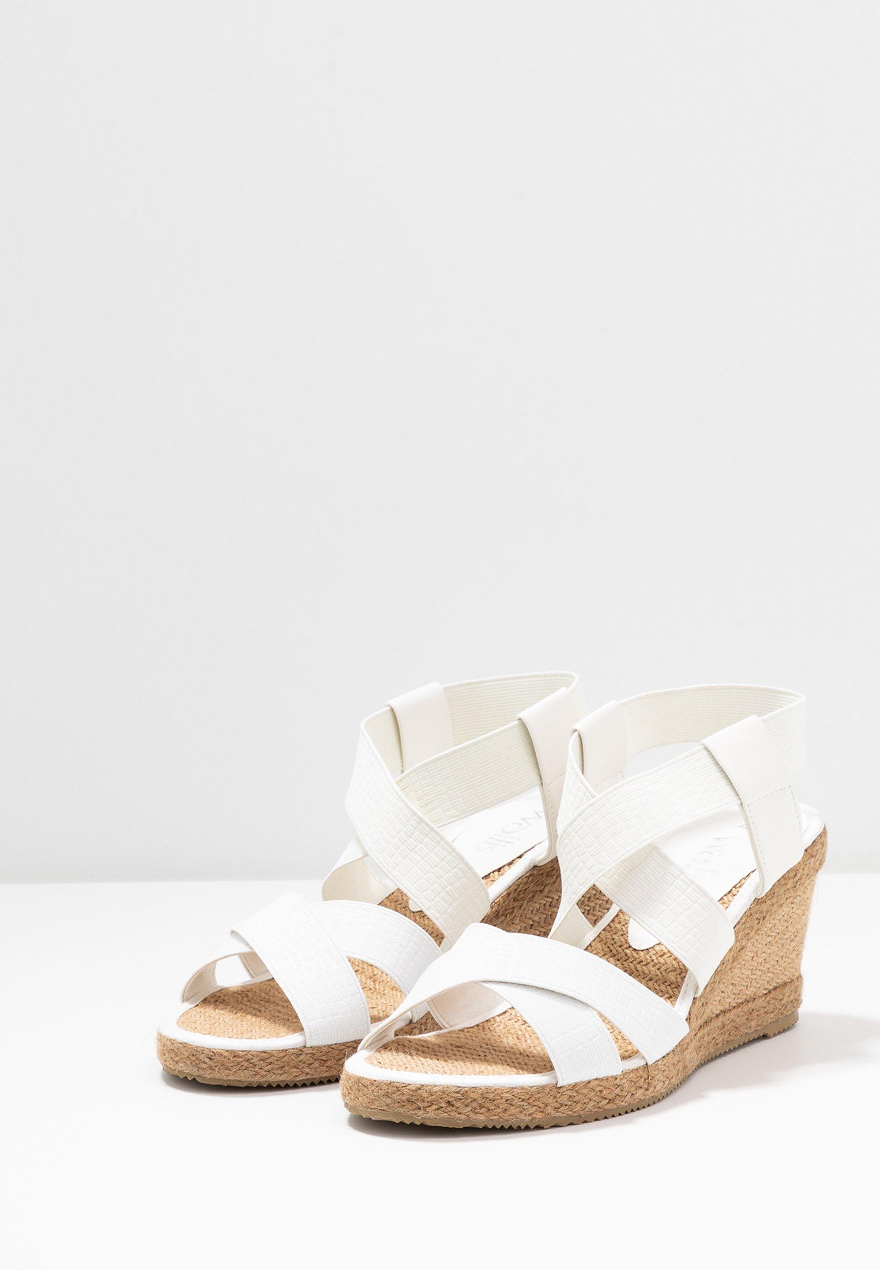 Wallis STARFRUIT - Espadrille - white  Halbschuhe für Damen 0V7Rx
