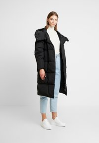 Object - OBJLOUISE  - Down coat - black - 1