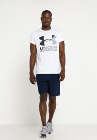Under Armour - WORDMARK - Sports shorts - academy/graphite - 1