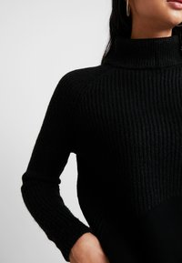ONLY - ONLJADE ROLLNECK - Svetr - black - 5