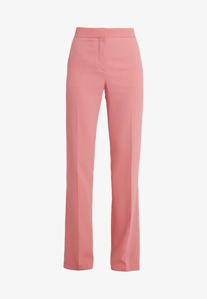 Trousers - poppy peach