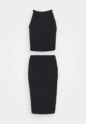 ONLNELLA TOP AND SKIRT SET - Top - black/black