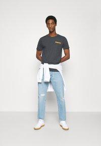 Solid - MATTI - Print T-shirt - insignia - 1