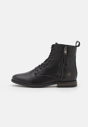 MADONNA - Lace-up ankle boots - black