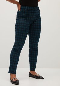 Violeta by Mango - ROMA - Trousers - blue - 0