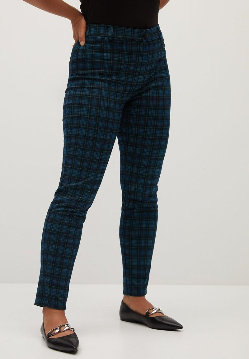 Violeta by Mango - ROMA - Trousers - blue