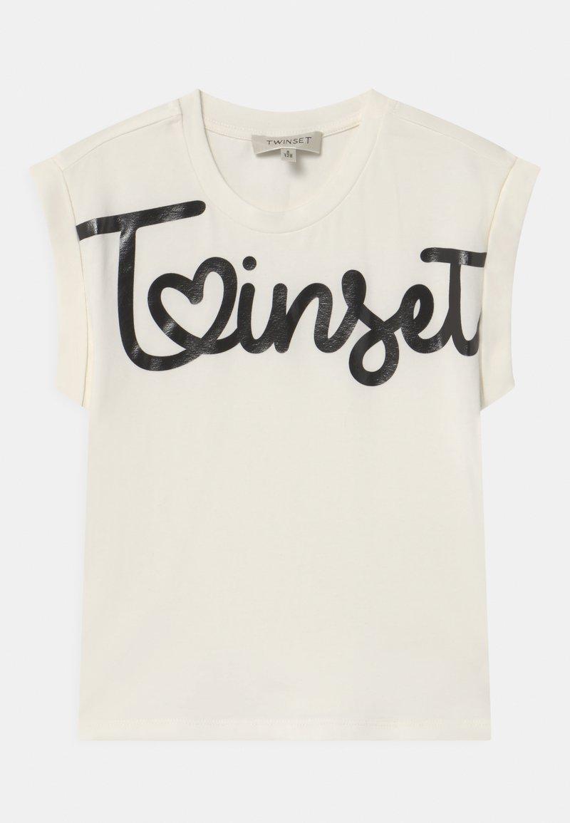 TWINSET - Print T-shirt - off white