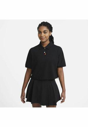 Polo shirt - black/black