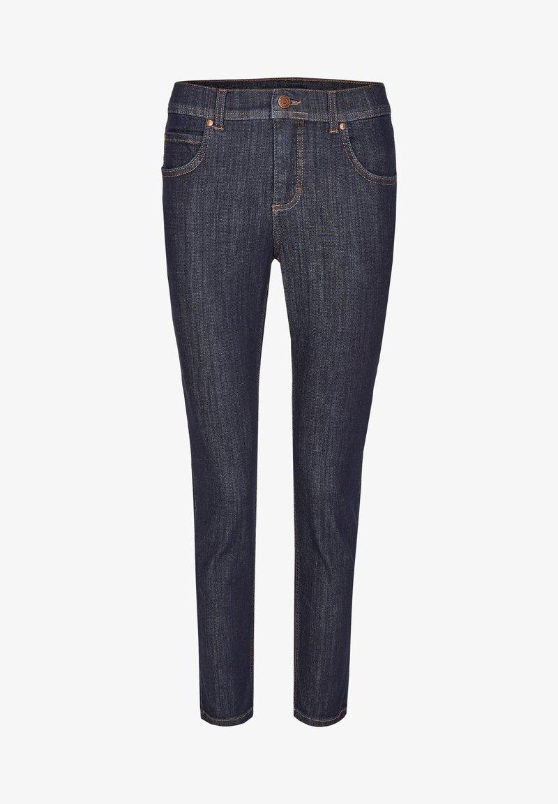 Angels - MIT MODISCHEM CRINKLE-EFFEKT - Slim fit jeans - dunkelblau