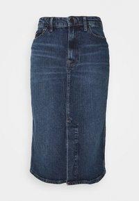 Tommy Hilfiger - PENCIL SKIRT LUCY - Pencil skirt - stone blue denim - 0