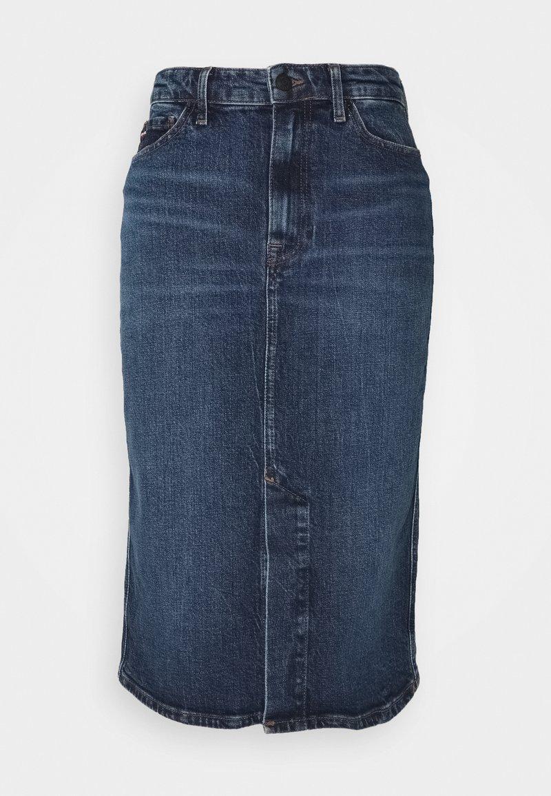Tommy Hilfiger - PENCIL SKIRT LUCY - Pencil skirt - stone blue denim