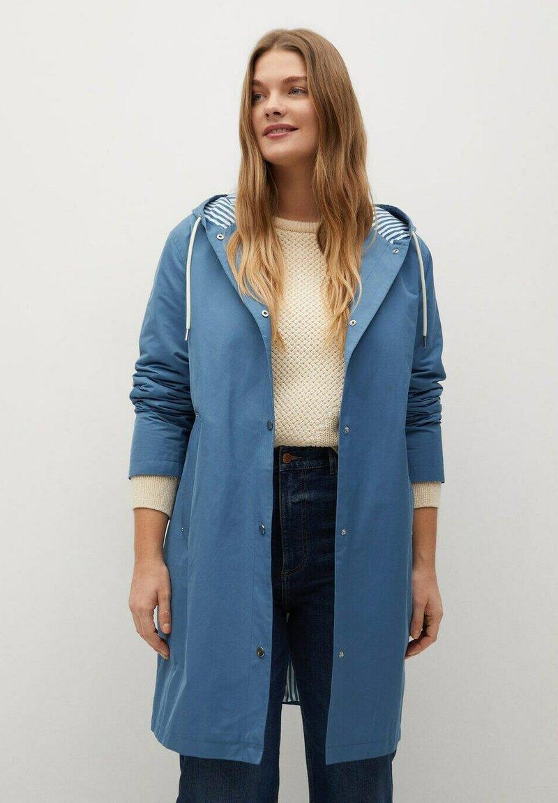 Violeta by Mango - Classic coat - niebieski