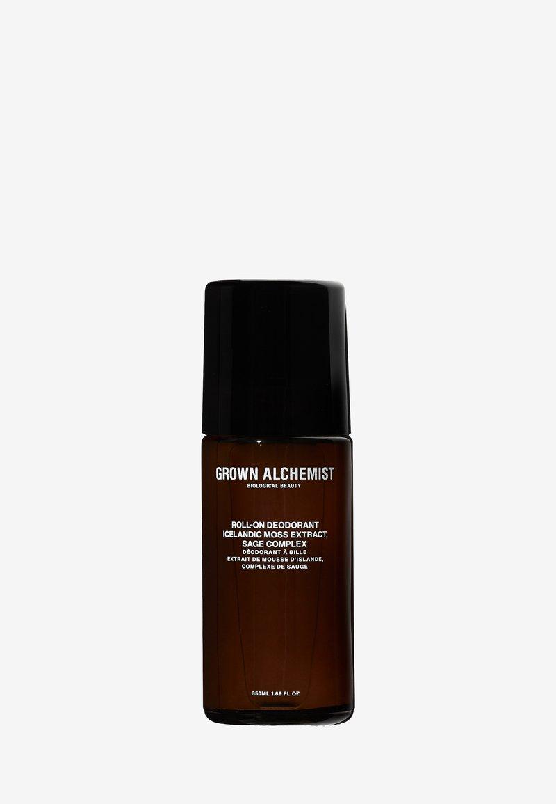 Grown Alchemist - ROLL-ON DEODORANT ICELANDIC MOSS EXTRACT, SAGE COMPLEX - Deodorant - -