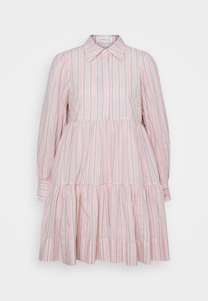 By Malina - ALLIE DRESS - Shirt dress - pale pink