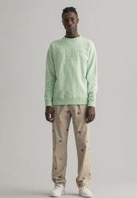 GANT - Sweatshirt - pastel green - 0