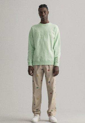 Sweatshirt - pastel green
