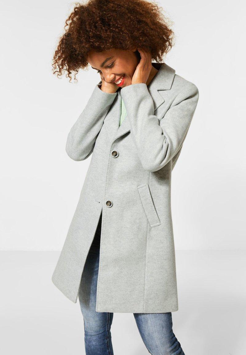 Street One - Classic coat - grau
