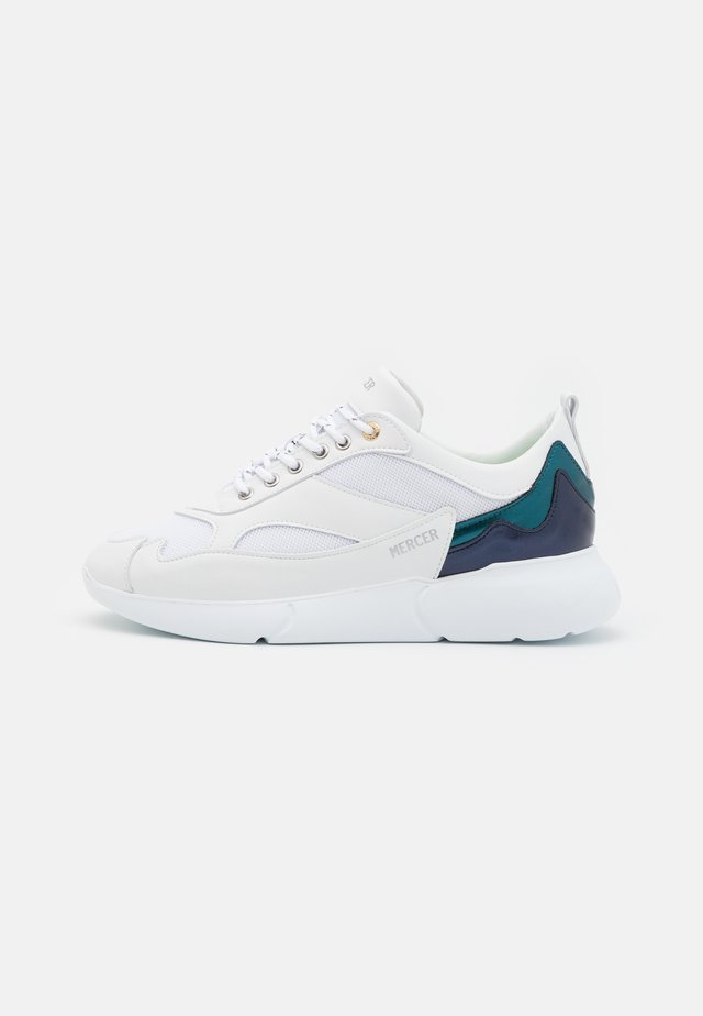 W3RD - Joggesko - white/green/navy