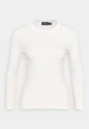 TEE LONG SLEEVE - Bluzka z długim rękawem - white