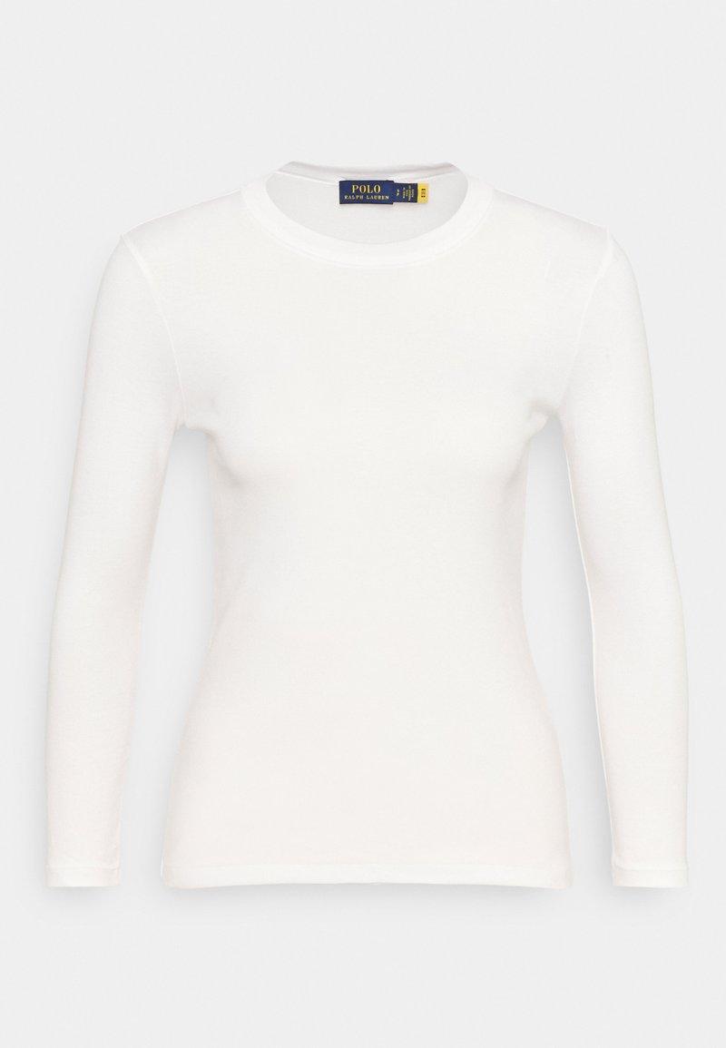 Polo Ralph Lauren - TEE LONG SLEEVE - Maglietta a manica lunga - white
