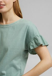 Esprit - WASH TEE - Print T-shirt - turquoise - 5