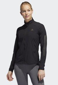 adidas Performance - RISE UP N RUN JACKET - Sports jacket - black - 0