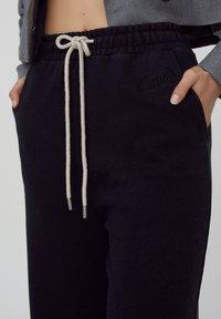 PULL&BEAR - Pantaloni sportivi - black - 3