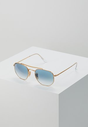 Sunglasses - clear gradient blue