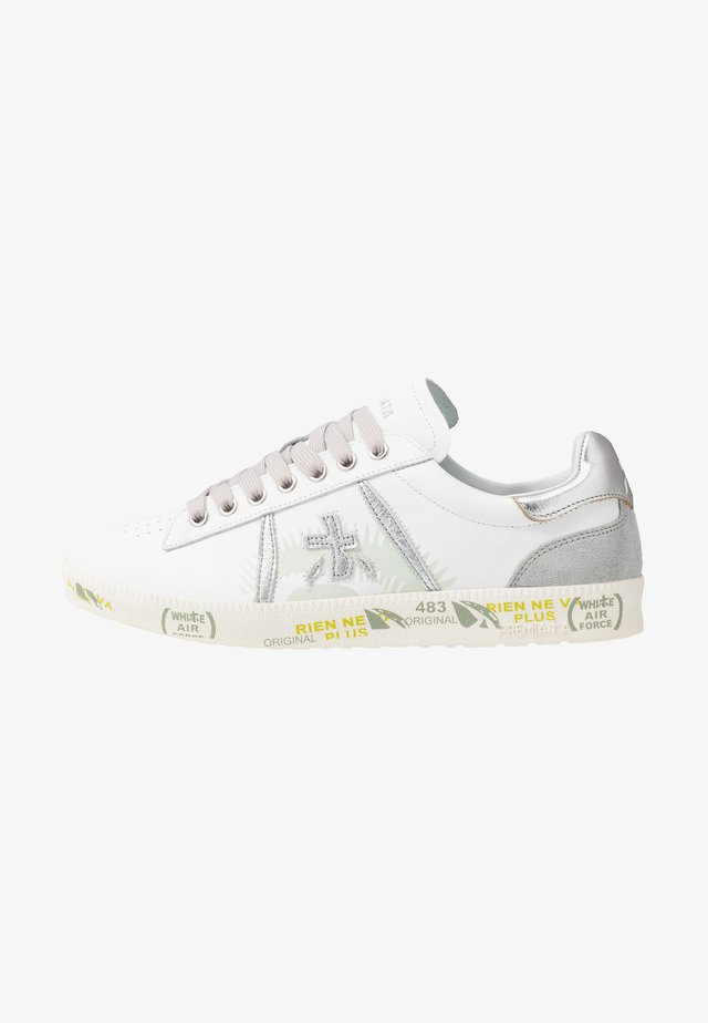 ANDY - Trainers - white/silver