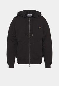 Vivienne Westwood - RUGGED ZIP HOODIE - Zip-up sweatshirt - black - 4