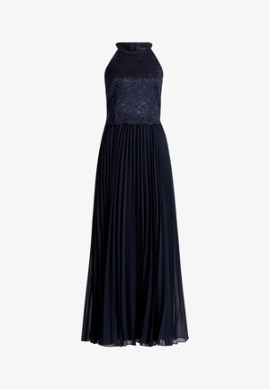 MIT SPITZE - Cocktail dress / Party dress - night sky