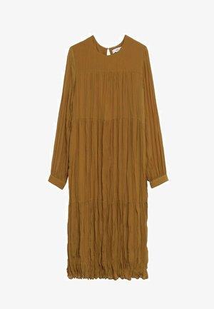 PLISADO - Denní šaty - marrón medio