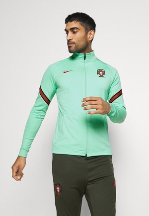 PORTUGAL FPF DRY SUIT - Tracksuit - mint/sequoia/sport red