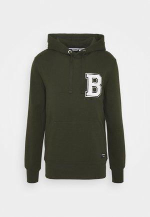 CENTRE HOOD - Zip-up hoodie - rosin