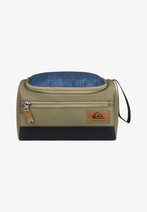 CAPSULE  - Wash bag - burnt olive