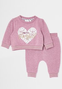 River Island - Tracksuit bottoms - pink - 2