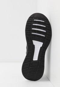 adidas Performance - RUNFALCON UNISEX - Juoksukenkä/neutraalit - core black/footwear white - 5