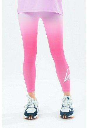 RASPBERRY FADE - Leggings - Trousers - pink