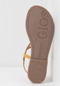 Gioseppo - T-bar sandals - mostaza - 6