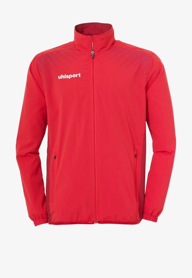 Training jacket - rot / bordeaux
