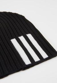 adidas Performance - BEANIE - Lue - black/white - 5