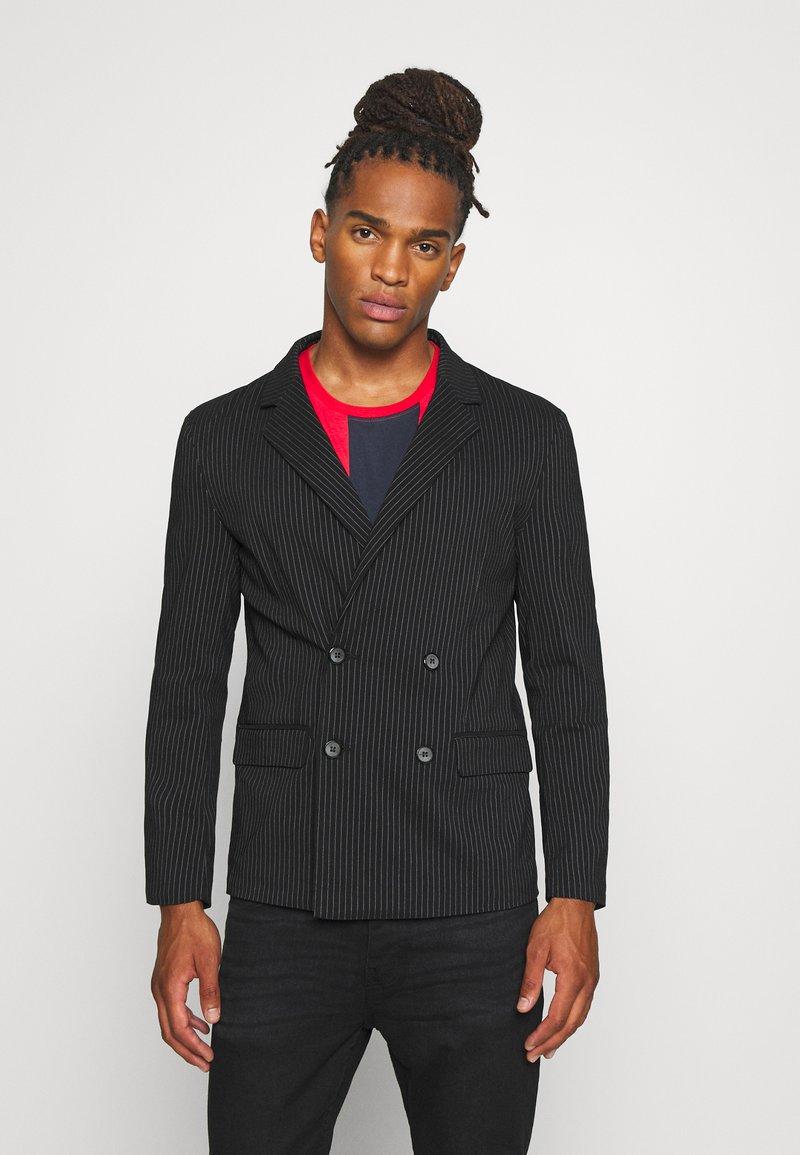 Brave Soul - BUCK - Suit jacket - black