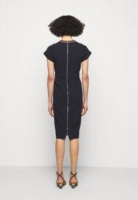 Victoria Beckham - Shift dress - navy - 2
