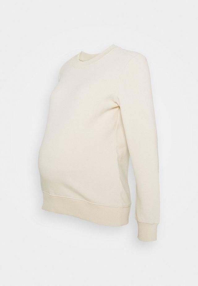 PCMPIP - Sweatshirt - whitecap gray
