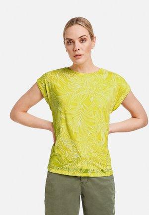 Print T-shirt - fresh lemon