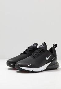 Nike Golf - AIR MAX 270 G - Obuwie do golfa - black/white/hot punch - 2